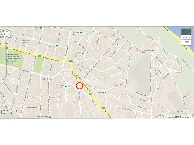 Продам участок под застройку гостиницы в Киеве