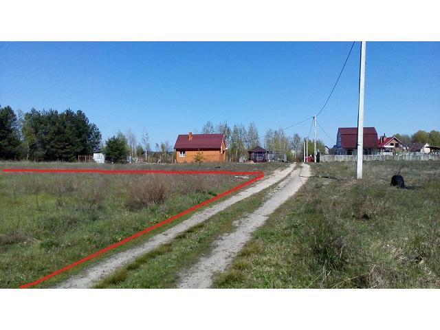 Продам участок у леса 27 км от Киева или обмен на автомобиль