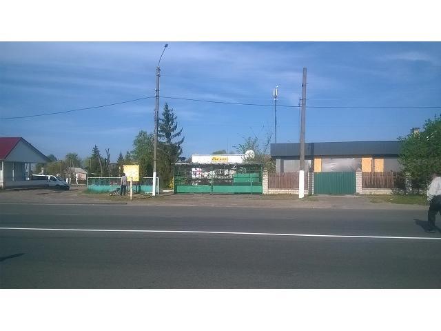 Продам магазин-кафе в центре с. Лютеж, 20км от Киева